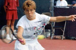 Sandra Cecchini...tennista libera di essere e libera di vincere